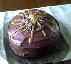 Chocolate Turtle Cake3