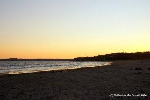 Sunset at Conrad's Beach